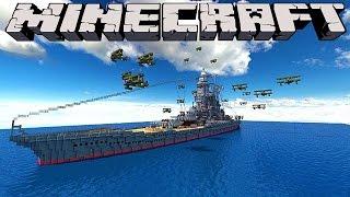 Minecraft : BATTLESHIPS -