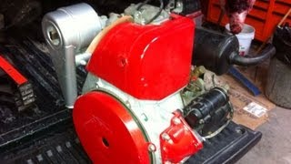 Lister Petter AC1 Electric Start 6.5HP Diesel Engine Motor