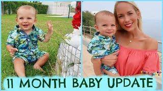 11 MONTH OLD BABY UPDATE & DEVELOPMENT