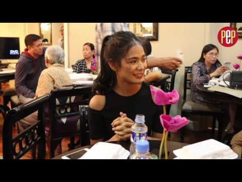 Why did Devon Seron cry during this interview?