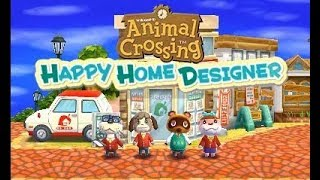 Animal Crossing: Happy Home Designer Playthrough Part 1
