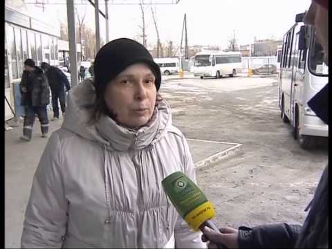 Репортаж о первом отправлении бесплатного монастырского автобуса от Северного автовокзала