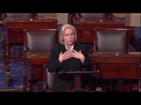 Gillibrand Floor Speech on waiver for General Mattis 1/12/17