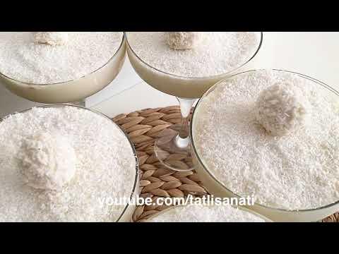 Çikolata Soslu Muhallebi Tarifi   Nasıl Yapılır?