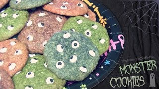 Monster Cookies - Halloween How To - Eyeball Treats DIY Thumbnail