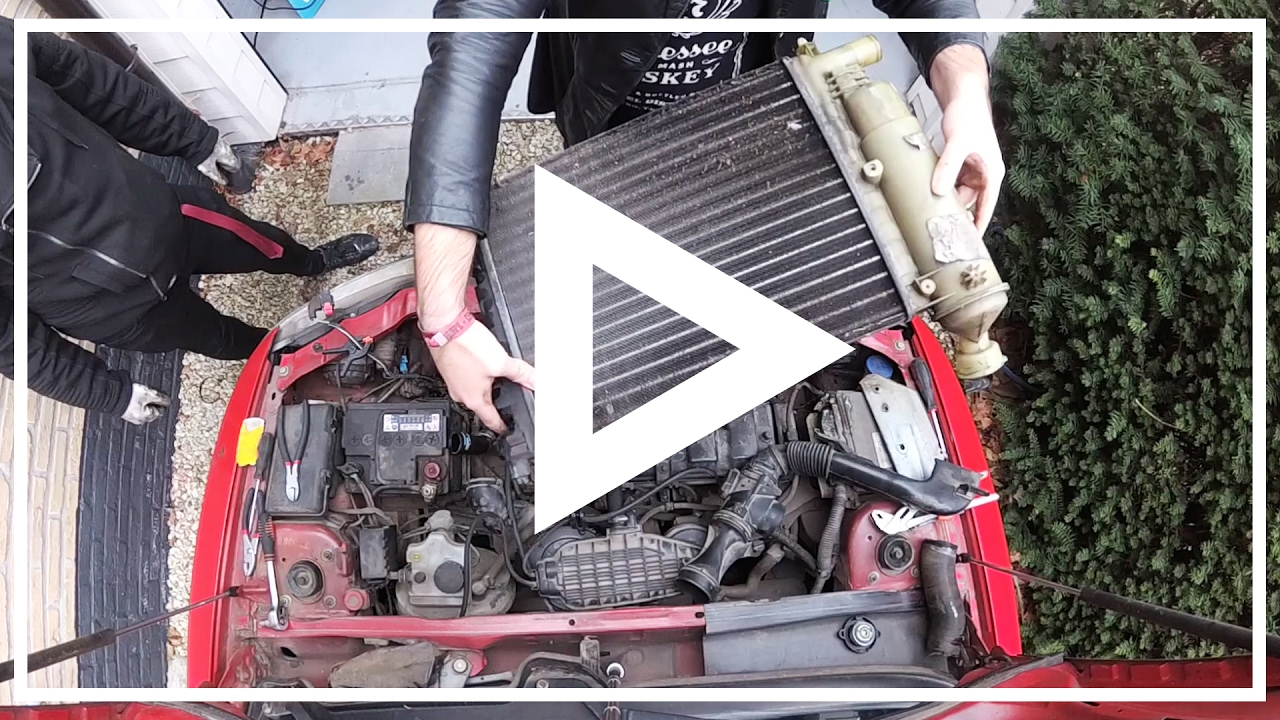 Repair Peugeot 106 Sketch Leaky Radiator Swap Youtube Engine Coolant