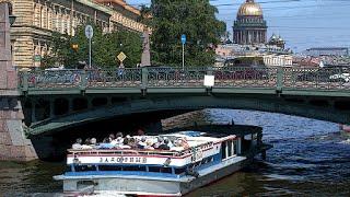 Экскурсия по рекам и каналам Санкт-Петербурга(Сегодня, побывав на Фестивале песчаных скульптур 2016, мы отправились на водную экскурсию по рекам и каналам..., 2016-06-02T09:56:08.000Z)
