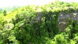 the return zipline suislide danao adventure park in bohol philippines