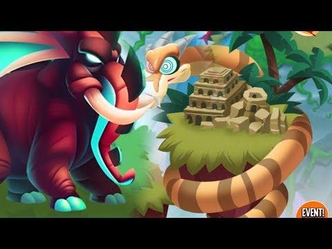 NEW ELEPHANT DRAGON & Jungle Island, All Dragons | Dragon City