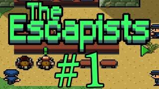 ЭКЗОТИЧЕСКАЯ ТЮРЬМА! The escapists #1