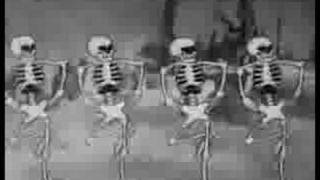 The Skeleton Dance ( calaveras bailarinas ) Disney