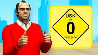 Die EXTREM KINDERFREUNDLICHE Version von GTA 5 spielen!