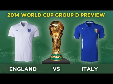 PREVIEW: ENGLAND v ITALY | 2014 FIFA World Cup Brazil