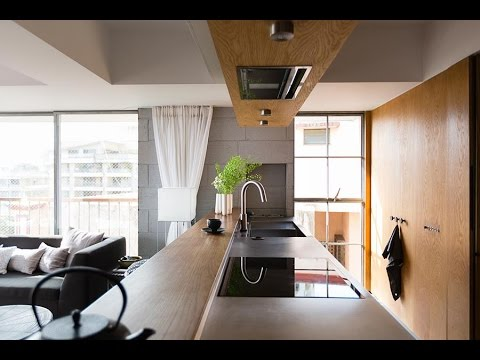 Living Room Ideas For Apartments Black And White Rooms 80 Sqm Two Bedroom Apartment Interior Layout Renovation ...
