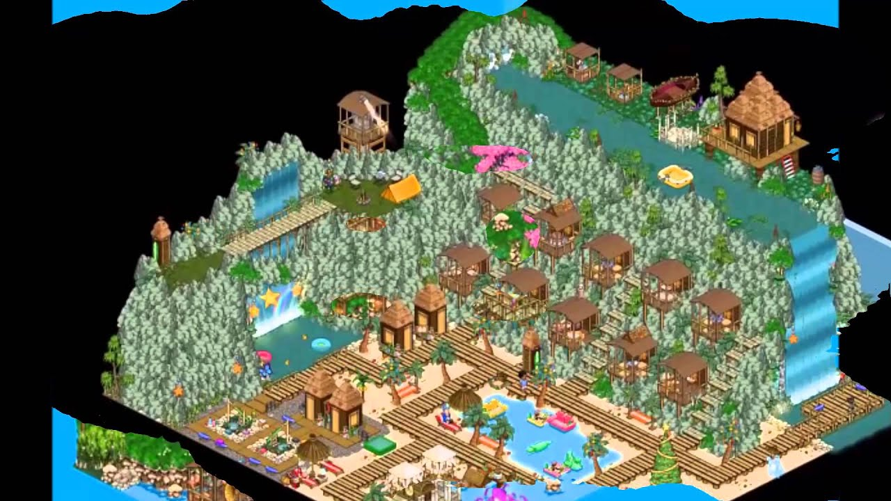 Habbo Game Room Ideas