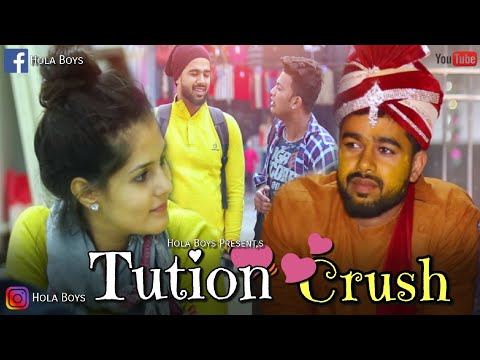 Tuition Crush (A Love Story)  - Hola Boy's   AAZAM   The Unexpected Twist   Best love Story of 2018
