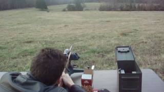 Winchester Model 121 .22 LR at 220 yards