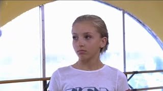 Dance Moms - Brynn Doesn't Want To Fall Backwards In The Group Dance (Season 7 Episode 21)