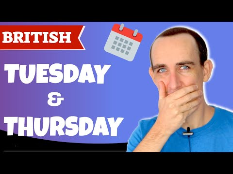 How To Pronounce Tuesday V Thursday   British English Pronunciation