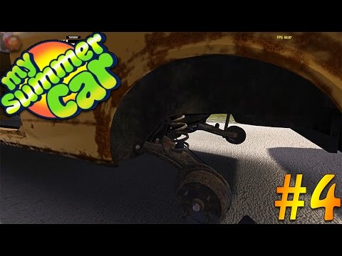 My Summer Car - Building The Suspension & Chassis #4