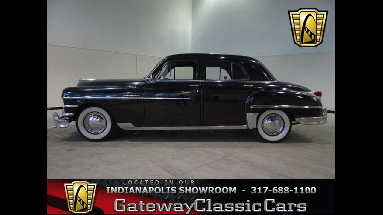1949 Chrysler Windsor #110-ndy Gateway Classic Cars - Indianapolis ...