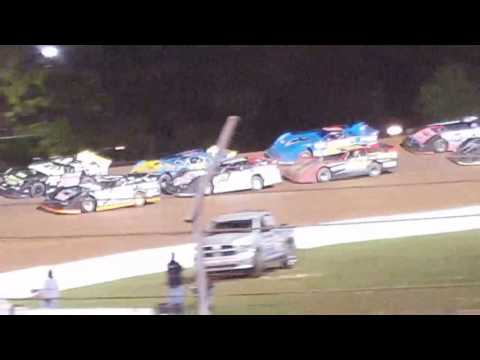 Lernerville speedway steel city stampede rush late model feature