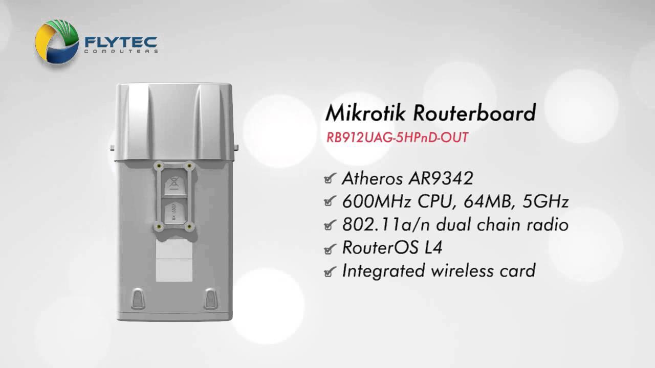 MikroTik RB912UAG-5HPnD-OUT Antenna Driver for Windows
