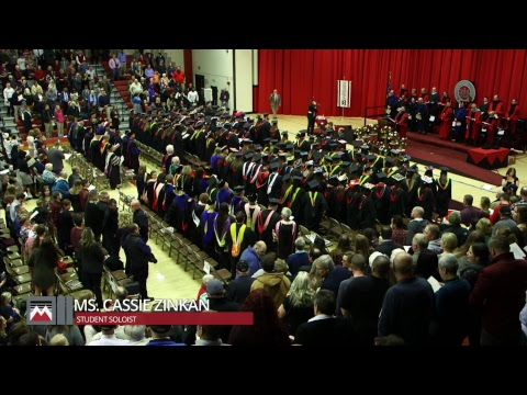 Mansfield University of Pennsylvania Fall Commencement 2017