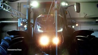 300 PS / 6,7 l Hubraum: Traktoren auf dem Rollenprüfstand