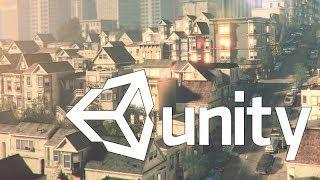Unity3d. Урок 2. Создание проекта. Unity уроки.