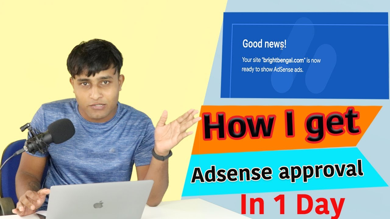 How I Get  Adsense Approval In 1 day #in lockdown | My experience