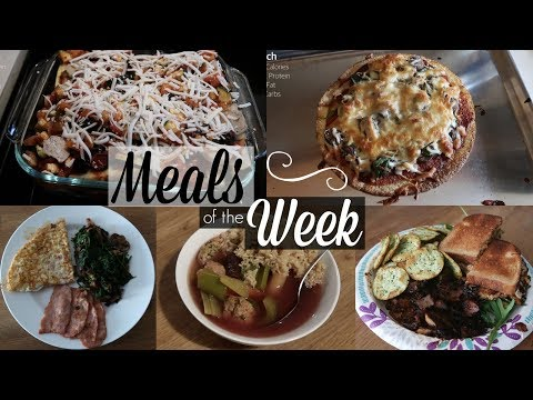 Healthy Meals of the Week #2 with RECIPES - SRV #206 | Sarah Rae Vlogas |
