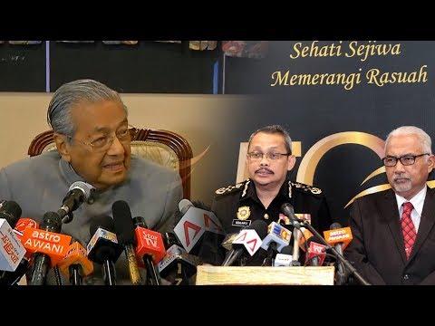 Tun Mahathir: MACC's chief resignation is his own choice