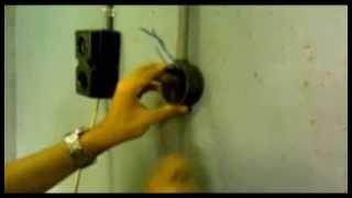 Praktek Pemasangan Instalasi Satu Lampu Dengan Dua Sakelar Tukar