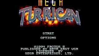Mega Drive Longplay 007 Mega Turrican