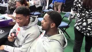 TigerNet.com - Shadell Bell interviews his son, Isaiah Simmoms