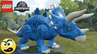 Lego Jurassic World - STEGOCERATOPS ( Estegossauro + Tricerátops )