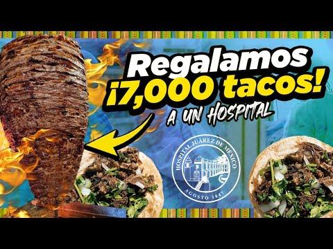 REGALAMOS más de 7000 TACOS a un HOSPITAL 🏥 🇲🇽 Record Histórico!!