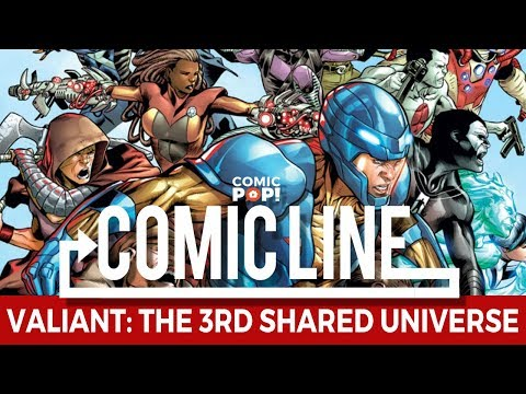 Is Valiant the third shared comics universe?