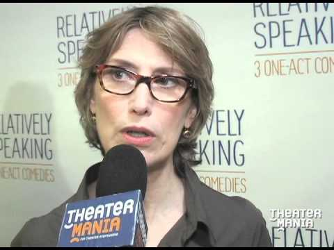 Cast Members talks about working on Broadway's Relatively Speaking