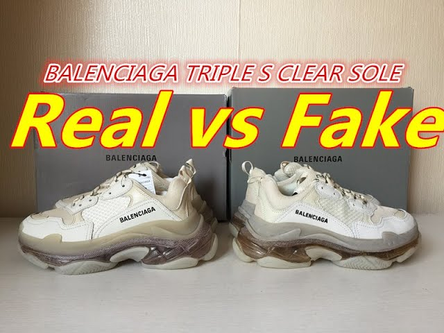 how to spot fake triple s