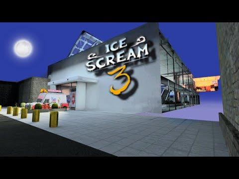 Гуляю за Торговом Центре в Мороженщик 3 - Ice Scream 3