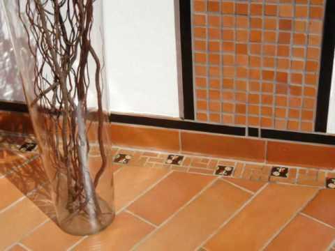 Cer mica f nix ambientes 2010 youtube for Pisos ceramicos rusticos para interiores