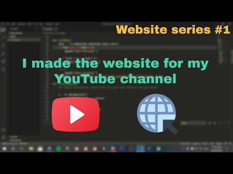 How I Made The Website For My YouTube Channel | Tech Explorer | Website | Coding | Html And CSS