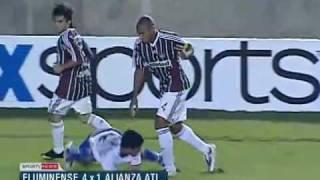 Os gols de Fluminense 4 x 1 Alianza Atlético do Peru pelas oitavas da Copa Sul Americana