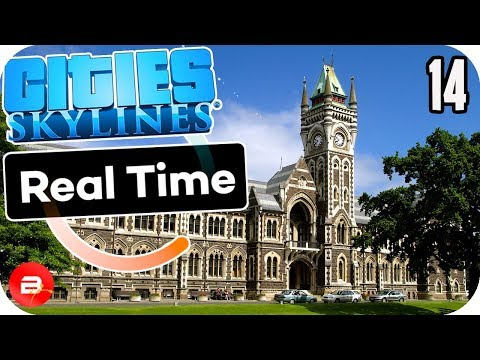 Cities Skylines - University Finally...Worth It? #14 Cities Skylines Mods