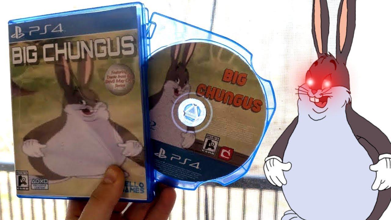 Big Chungus Ps4 Game Leaked Youtube