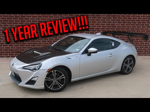 2013 Scion FRS - One Year Of Ownership! What You Need To Know Before Buying A FRS/BRZ!!!