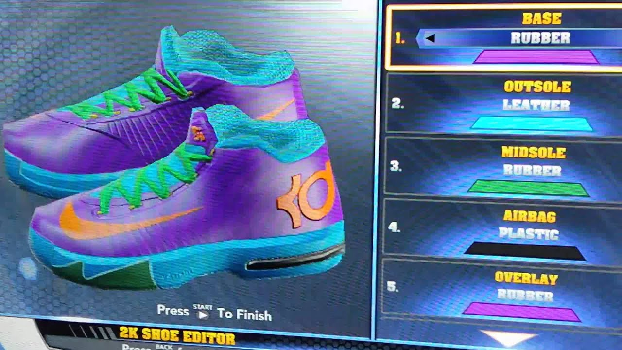 b90d06741f0a Rugrats KD 6 for NBA 2K14 - YouTube