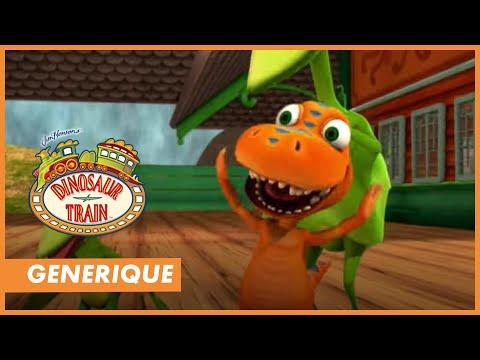 LE DINO TRAIN - La chanson du générique de ton dessin animé